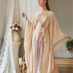 Sequin Maxi Dress NWT